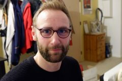 François avec les lunettes d'Alex