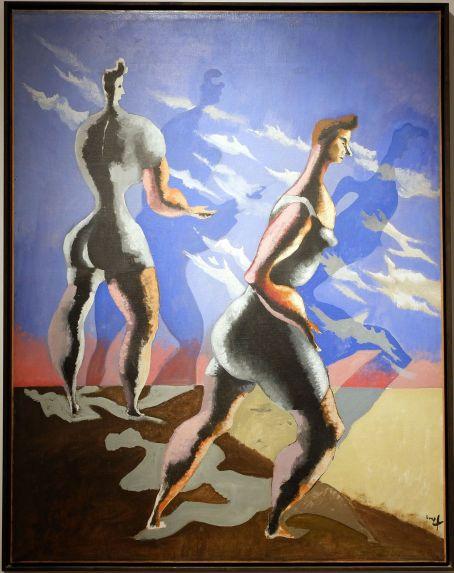 """Jean Lurçat, """"Baigneuses et leur ombre"""", 1938."""