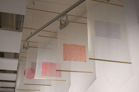 Des panneaux en papier japonais dit Etchuu Washi