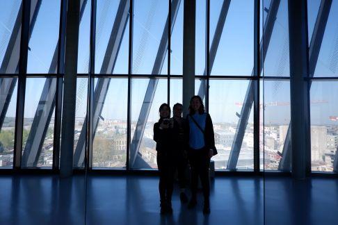 Petite photo prise du 8e étage