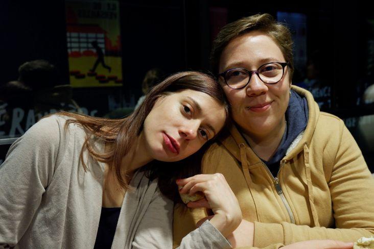 Gwladys et Alex