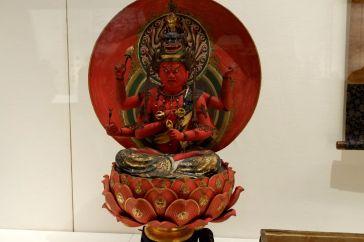 Un Ragaraja (Aizen Myou-ou)entre 1300 et 1500), un dieu bouddhiste transformant le désir sexuel en connaissance spirituelle.