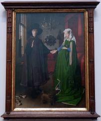 """Jan Van Eyck, """"Portrait des Arnolfini"""", 1434. Tant de choses à dire sur ce tableau qui est un sujet classique dans les commentaires d'oeuvres en histoire de l'art."""