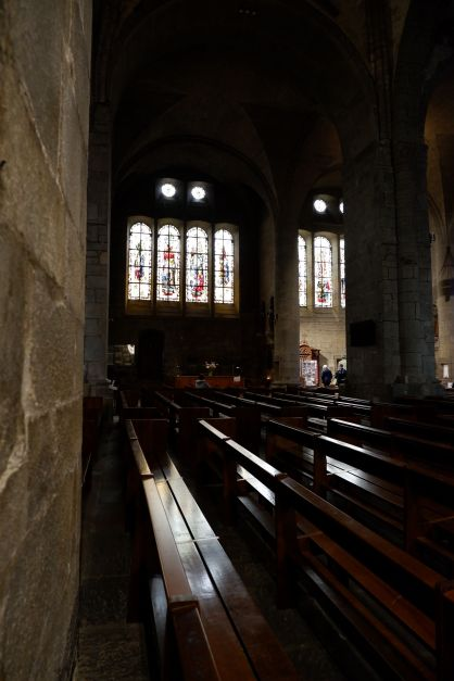 Dans la cathédrale de Saint-Malo (1)