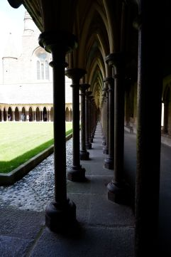 Le cloître de l'abbaye (3)