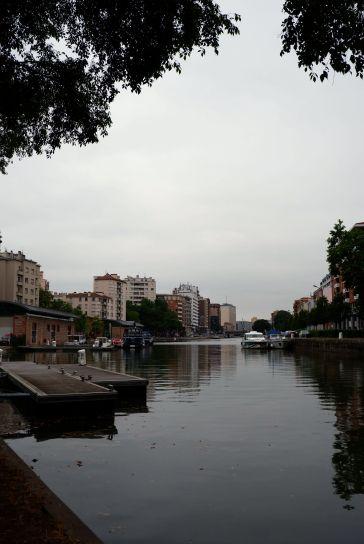 Le Canal du Midi, un matin gris (1)