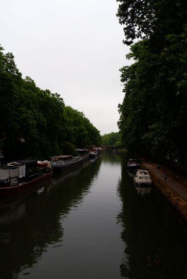 Le Canal du Midi, un matin gris (2)