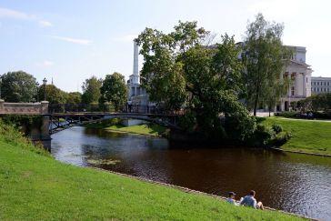 Riga, centre-ville paisible.