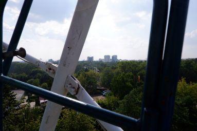 Du vert et des immeubles : la Minsk typique.