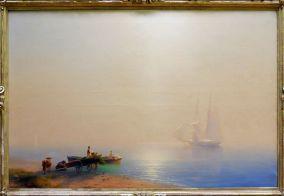 """Ivan Aizavosky, """"Misty Morning"""", 1853. Le peintre coup de coeur pour les paysages"""