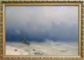 """Ivan Aizavosky, """"Storm"""", 1852. Le peintre coup de coeur pour les paysages"""