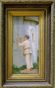 "Vasily Maksimov, ""Future artist"", 1899. Le Banksy du siècle dernier."