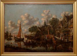 """Thomas Heeremans, """"Summer"""", 1689. Est-ce un paysage réaliste ? J'ai l'impression d'être dans un jeu vidéo !"""