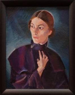 "Kuno Veeber, ""Portrait of a woman"", 1923."