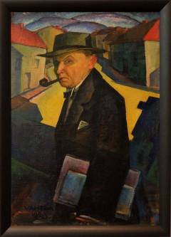 "Jaan Vahtra, ""Self-portrait"", 1923."