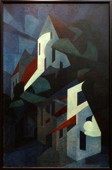 "Edmond Arnold Blumenfeldt, ""Composition. Night in Bavaria"", 1923-1924."
