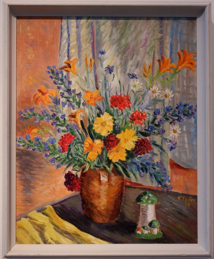 """Kristjan Teder, """"Flowers"""", 1939."""