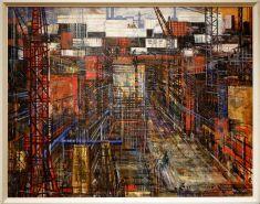 "Evald Okas, ""New Town"", 1965. L'envie de reconstruire, je comprends."