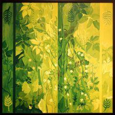 """Malle Leis, """"Flora"""", 1968. Une envie de forêt."""