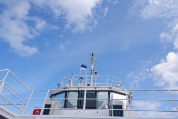 De retour sur le ferry