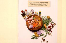 Un livre de cuisine à regarder plus qu'à utiliser de manière pratique.