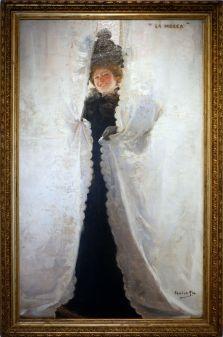 """Cecilio Pla Gallardo, """"La Mouche"""", 1897. Tout en légèreté et espièglerie."""