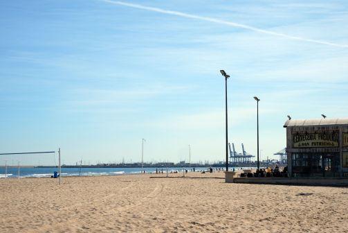 La plage de Las Arenas