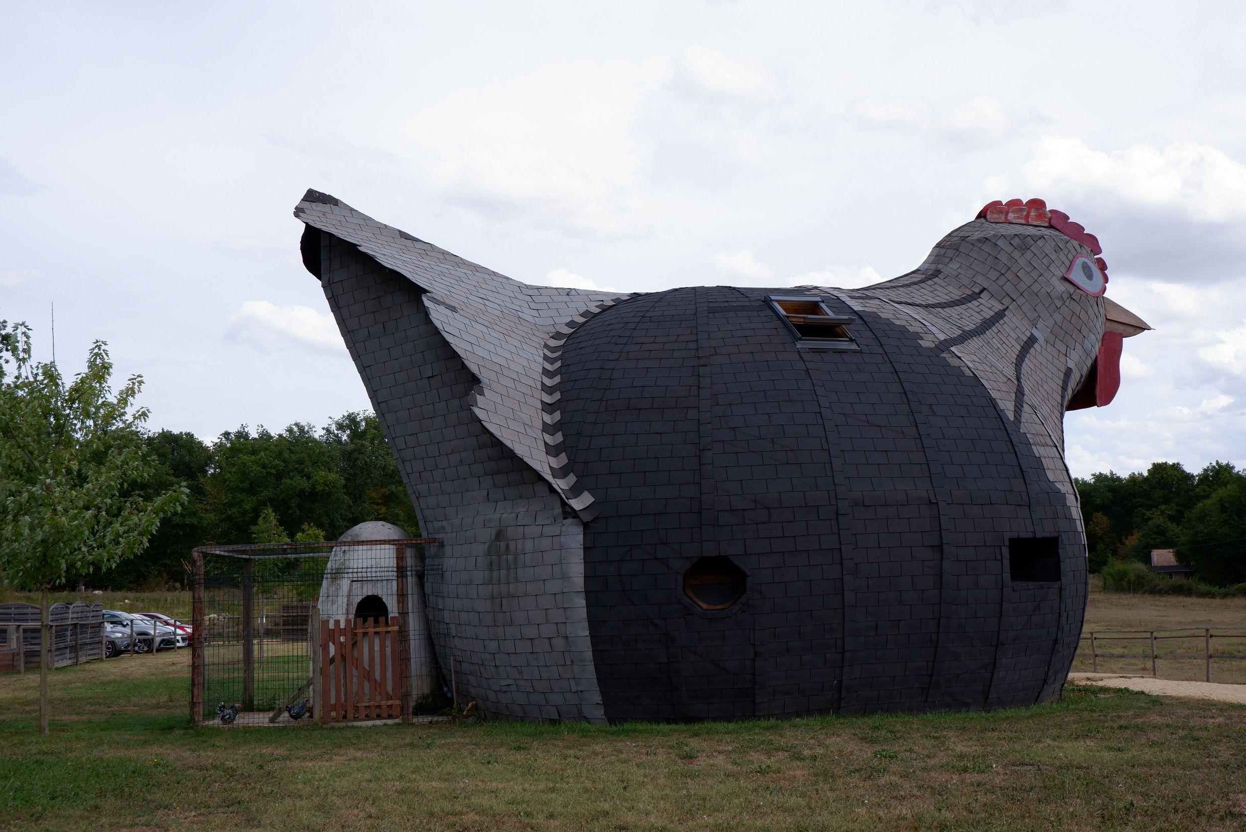 maison poule