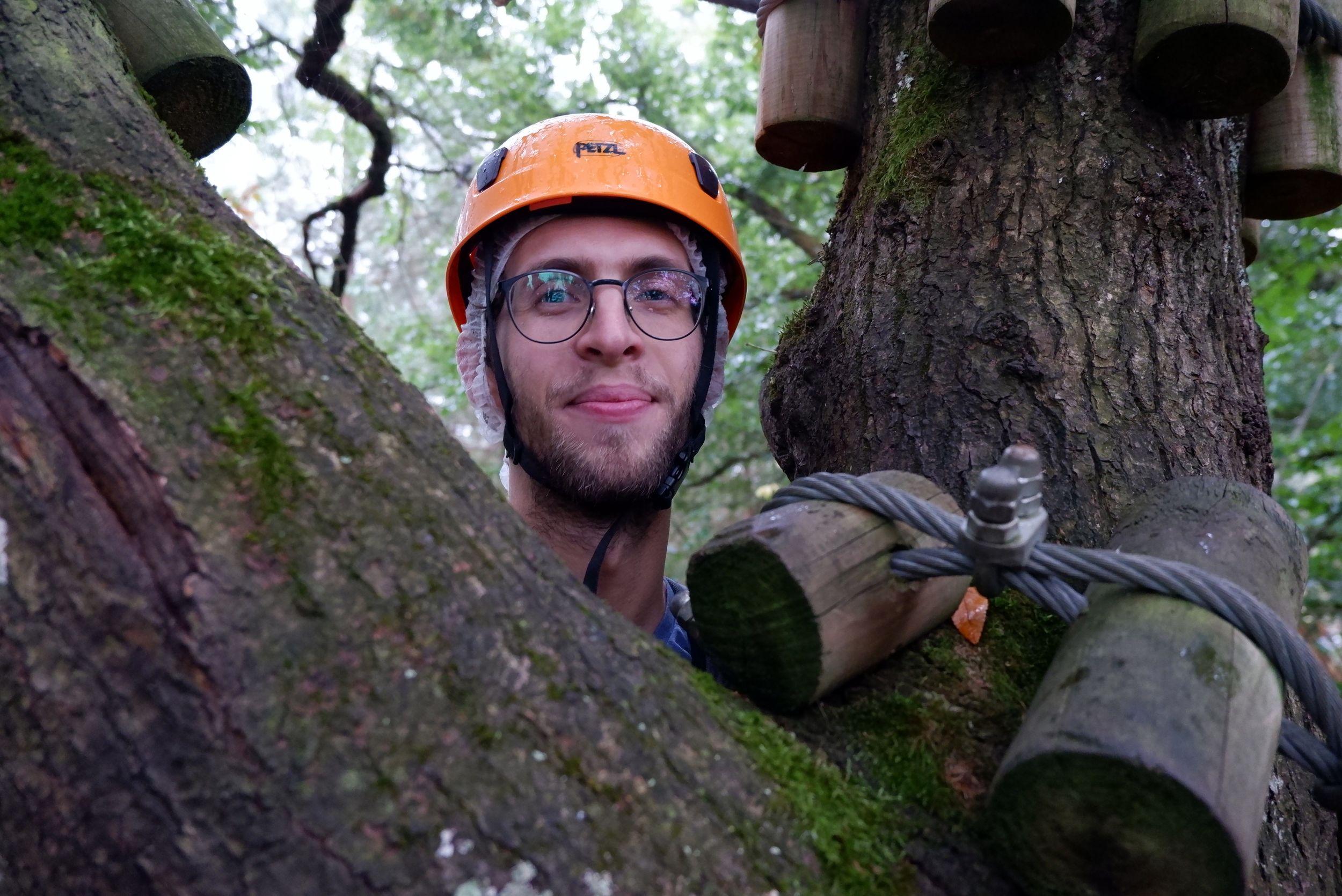 Ryan dans les arbres