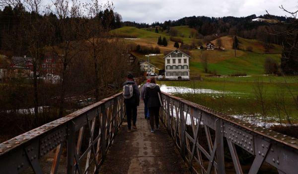 sur le pont à ebnat-kappel
