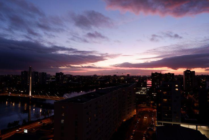 coucher de soleil nantais