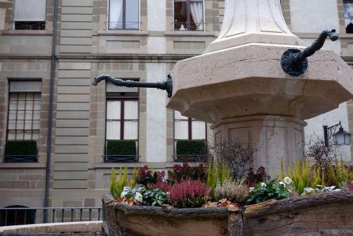 une fontaine