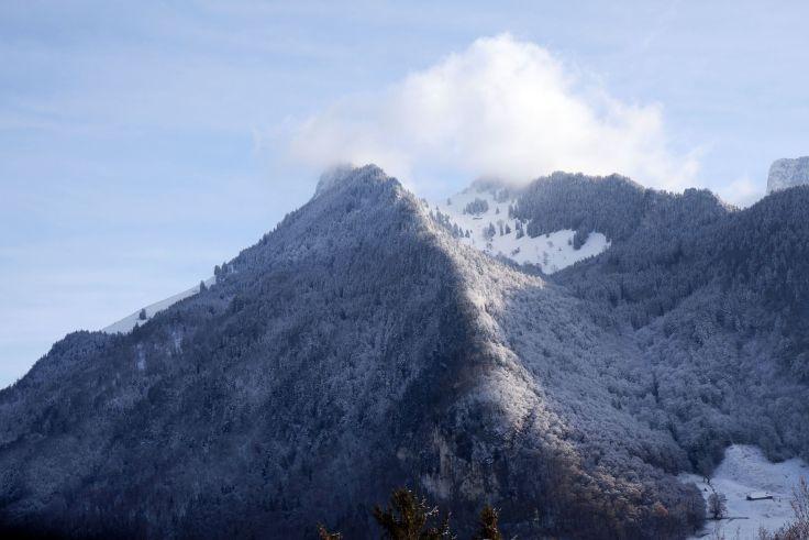 Une jolie montagne