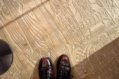 Le sol du musée Giger