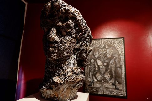 Une sculpture de Ralf Abati