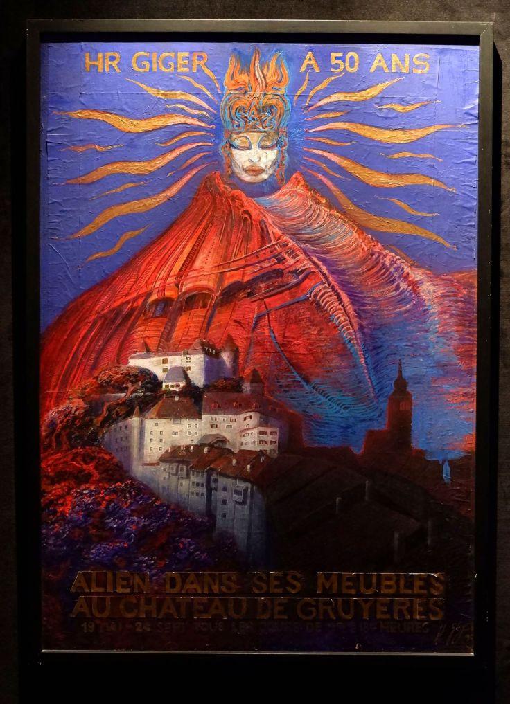 une affiche pour fêter les 50 ans de H.R. Giger