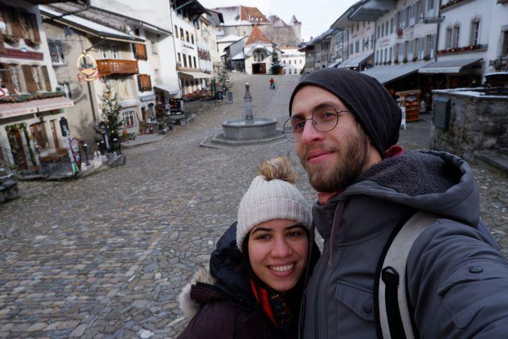 selfie dans Gruyères