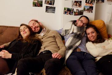 Sarah, Mathieu, Clément et Camille