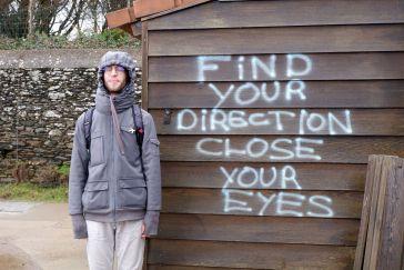 """""""Trouve ton chemin, ferme les yeux"""""""